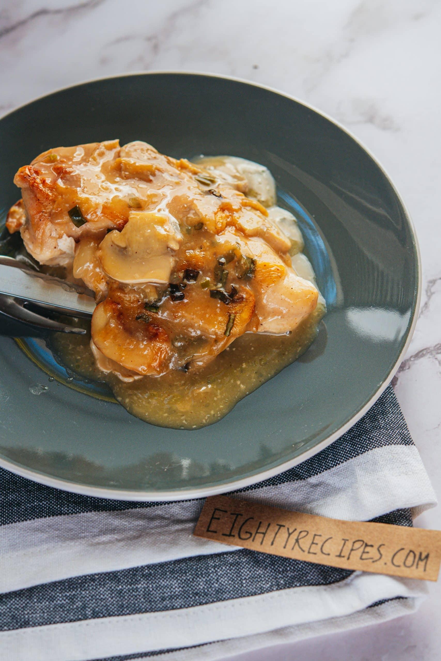 Easy Creamy Chicken Bake Recipe