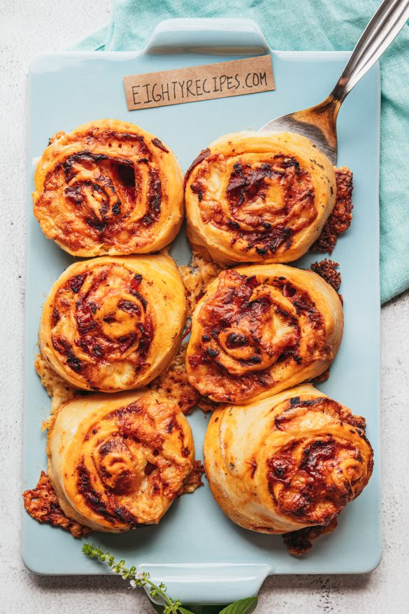 Pizza Roll Homemade
